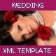 XML Wedding Template v1 - ActiveDen Item for Sale