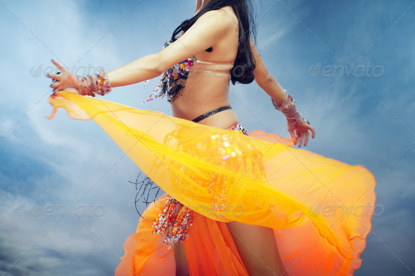 Belly dancer - Stock Photo - Images