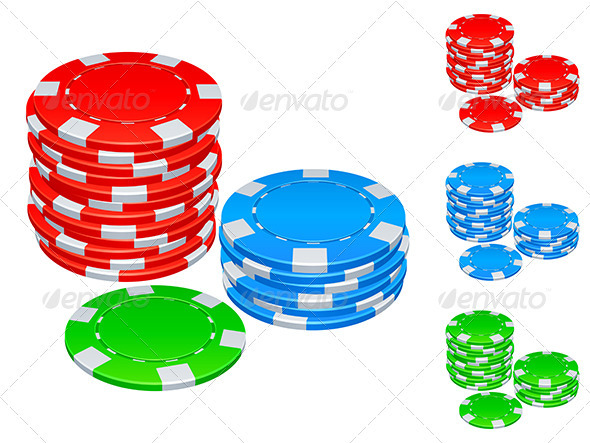 GraphicRiver Gambling Chips 3464784