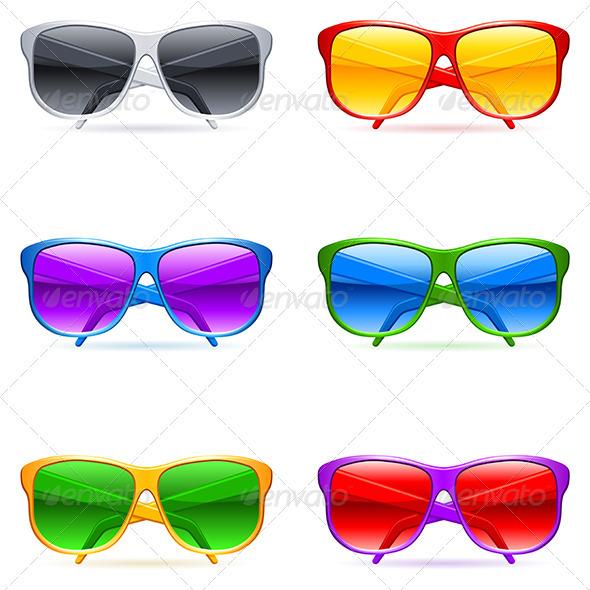 GraphicRiver Sunglasses 3464942