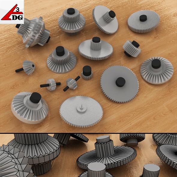 3DOcean Cogwheel 3465072
