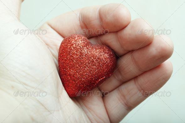 PhotoDune Heart in love 3669092
