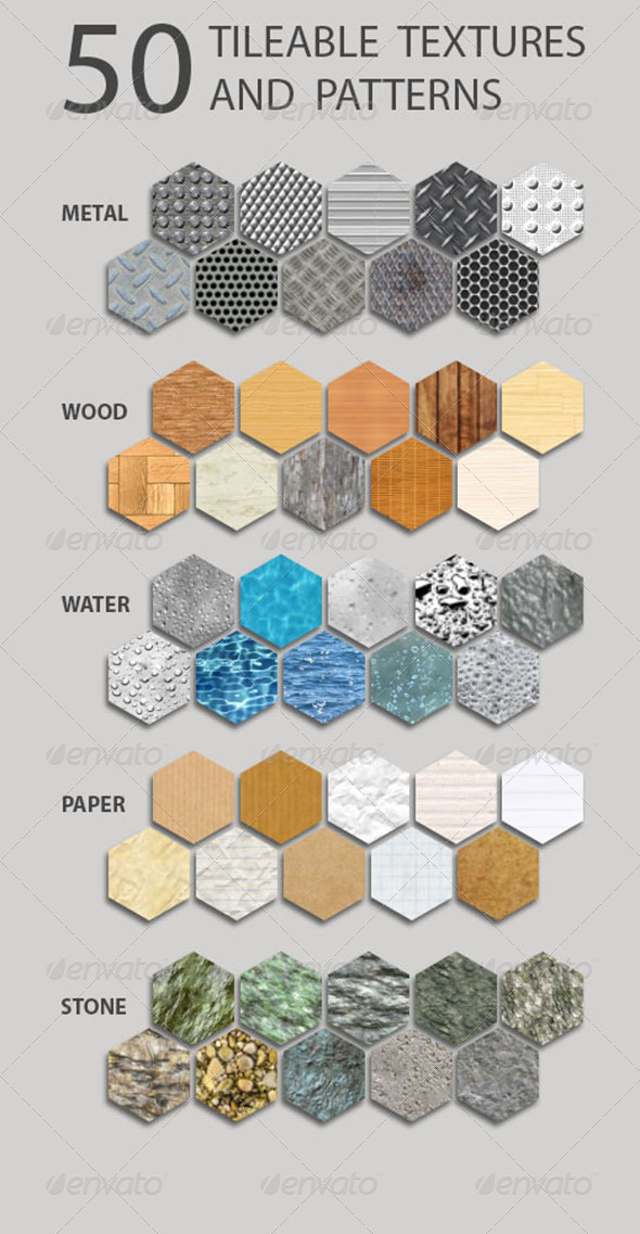 GraphicRiver Pattern Tileable Pack V1 3443230