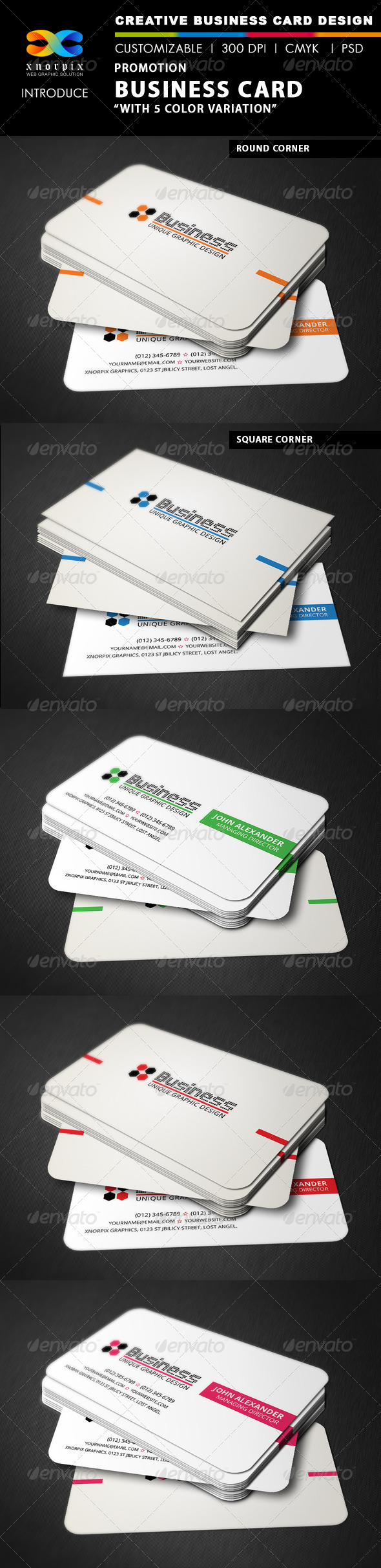 Promotion Business Card - Corporate Business Cards