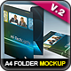 A4 Document Folder Mock-Up - GraphicRiver Item for Sale
