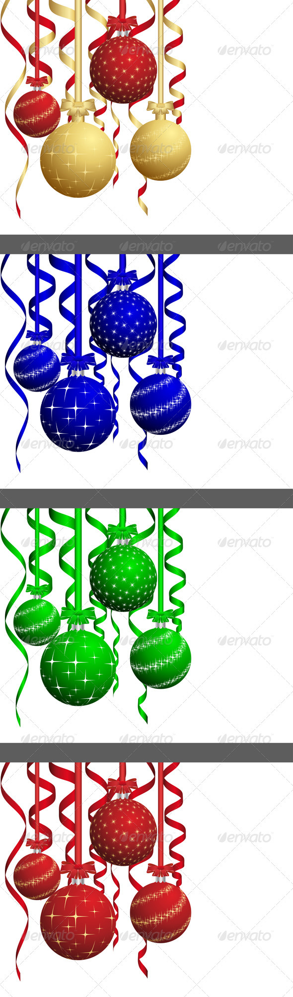 GraphicRiver Christmas Card Set 3446714