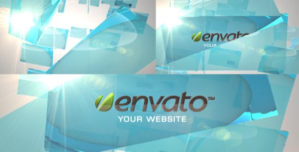 VideoHive Glass Logo 3466234