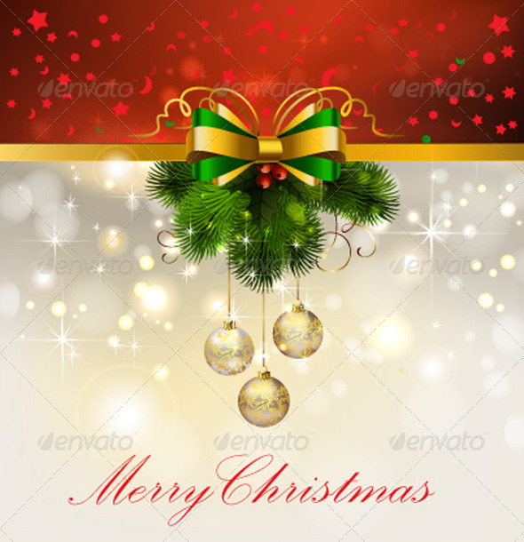 GraphicRiver Christmas Decoration Vector 3423892