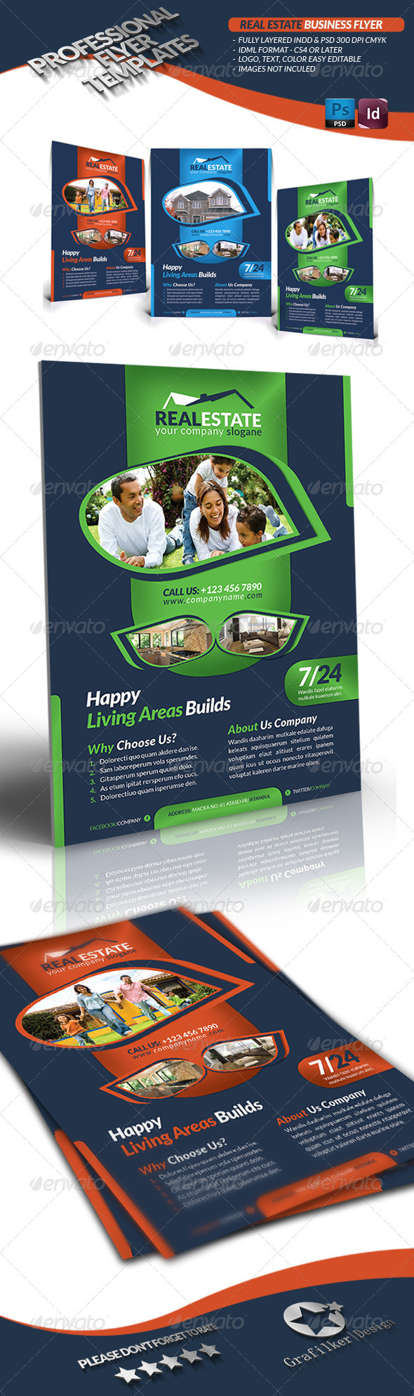 GraphicRiver Real Estate Business Flyer 3467177