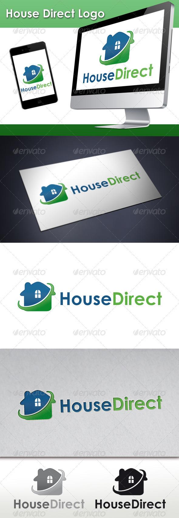 GraphicRiver House Direct Logo 3416435