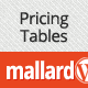 Mallard – Premium Pricing Tables Widget - CodeCanyon Item for Sale
