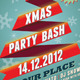 Xmas Party Bash PSD Flyer - GraphicRiver Item for Sale