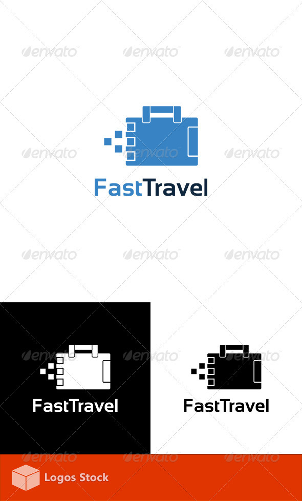 GraphicRiver Fast Travel Logo Template 3408491