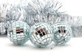 Christmas shiny garlands and balls - PhotoDune Item for Sale