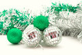 Christmas balls in bright sequins - PhotoDune Item for Sale