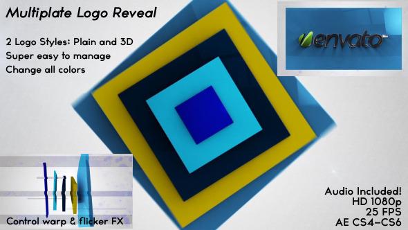 VideoHive Multiplate Logo Reveal 3469361