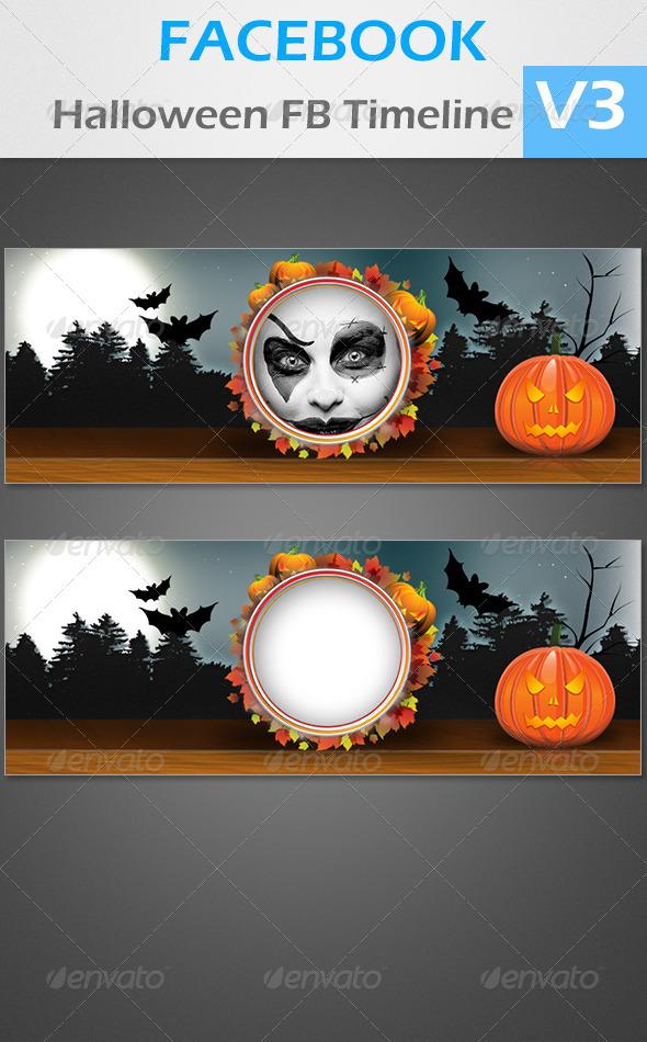 GraphicRiver FB Halloween V1 3448173