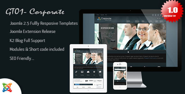 ThemeForest GT01- Corporate 3169541