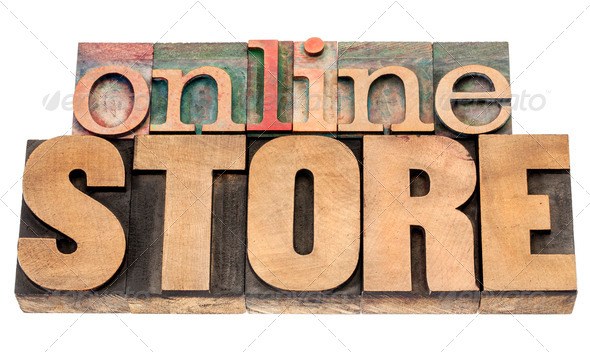 online store - Stock Photo - Images