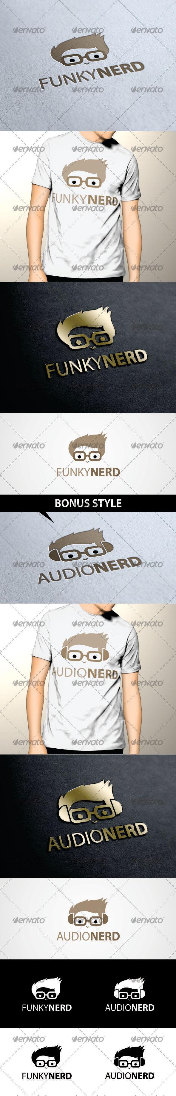 GraphicRiver Nerd Logo Template 3470030