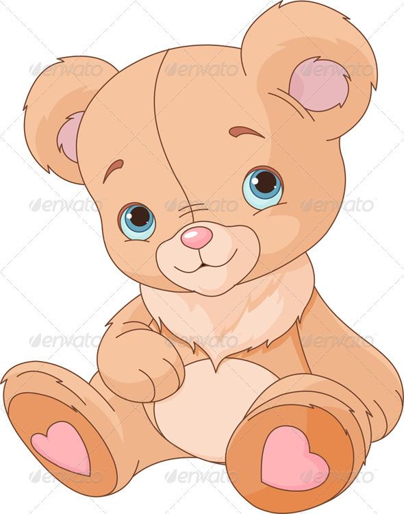 GraphicRiver Cute Teddy Bear 3470126