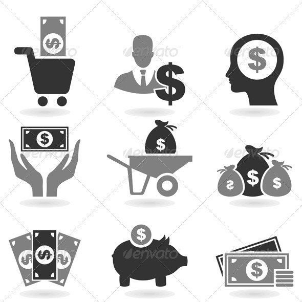 GraphicRiver Dollar Icon 3443663
