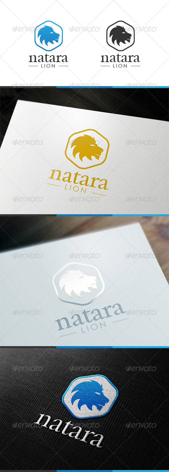GraphicRiver Natara Lion Logo 3471119