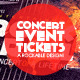 Concert & Event Tickets/Passes - Version 1 - GraphicRiver Item for Sale