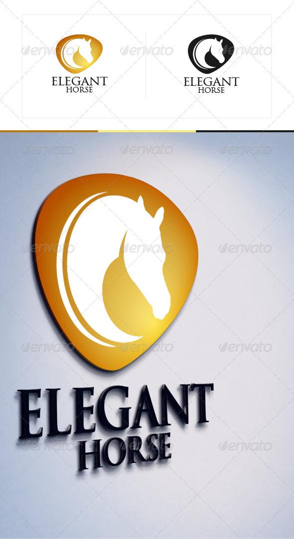 GraphicRiver Elegant Horse 3471242