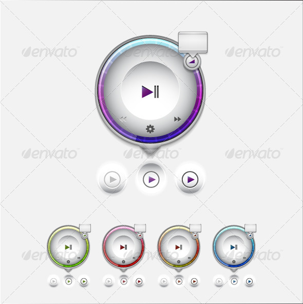 GraphicRiver Multimedia Player UI Tooltip 3461698