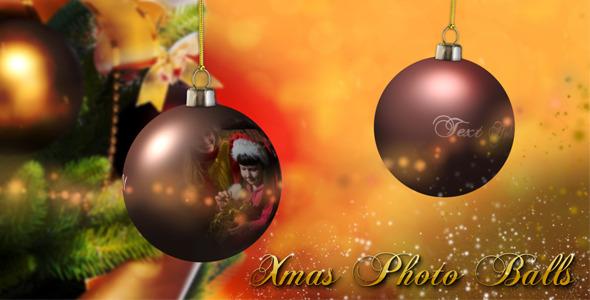 VideoHive Xmas Photo Balls 3471372
