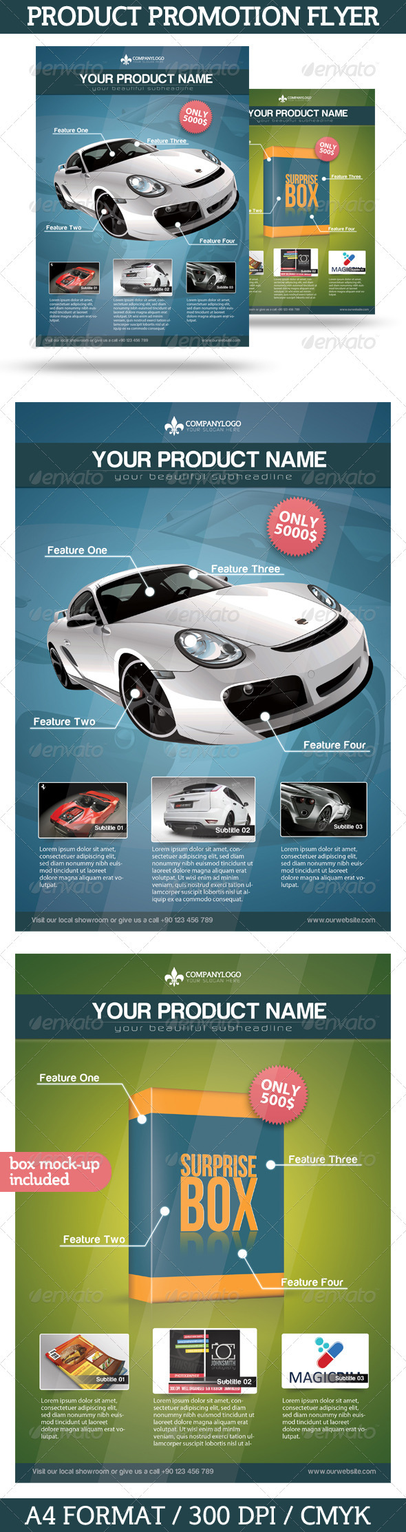 GraphicRiver Product Promotion Flyer 3440290