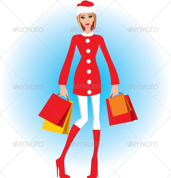GraphicRiver Christmas Shopping 3471863