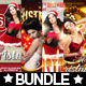 4x Christmas Flyer Bundle XXL - GraphicRiver Item for Sale