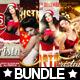 4x Christmas Flyer Bundle XXL - GraphicRiver Item for Sale