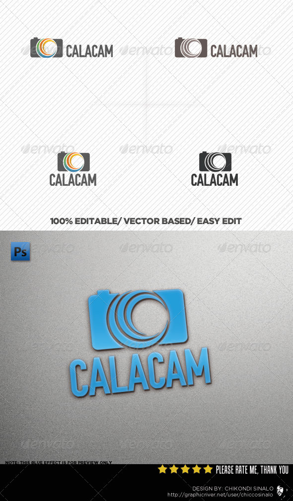 CalaCam Logo Template - Abstract Logo Templates