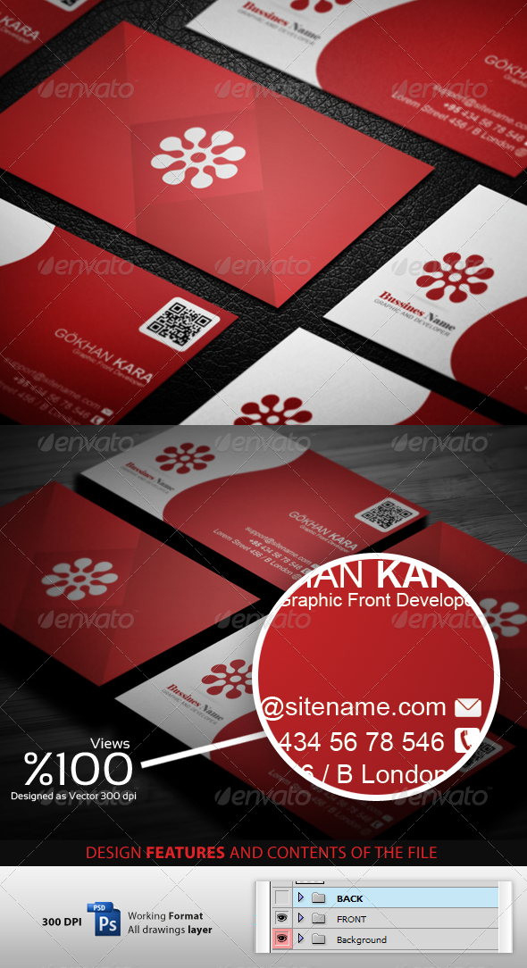 GraphicRiver Reding Business Cardvisid 3472218
