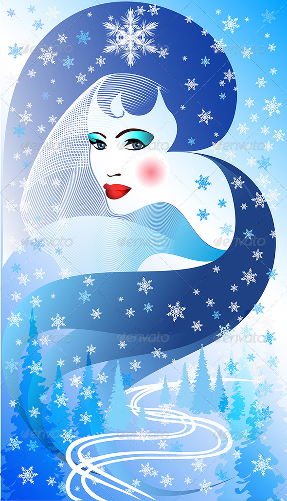 GraphicRiver Face of the Winter 3353273