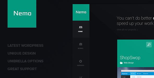 Nemo - Metro Inspired Wordpress Theme