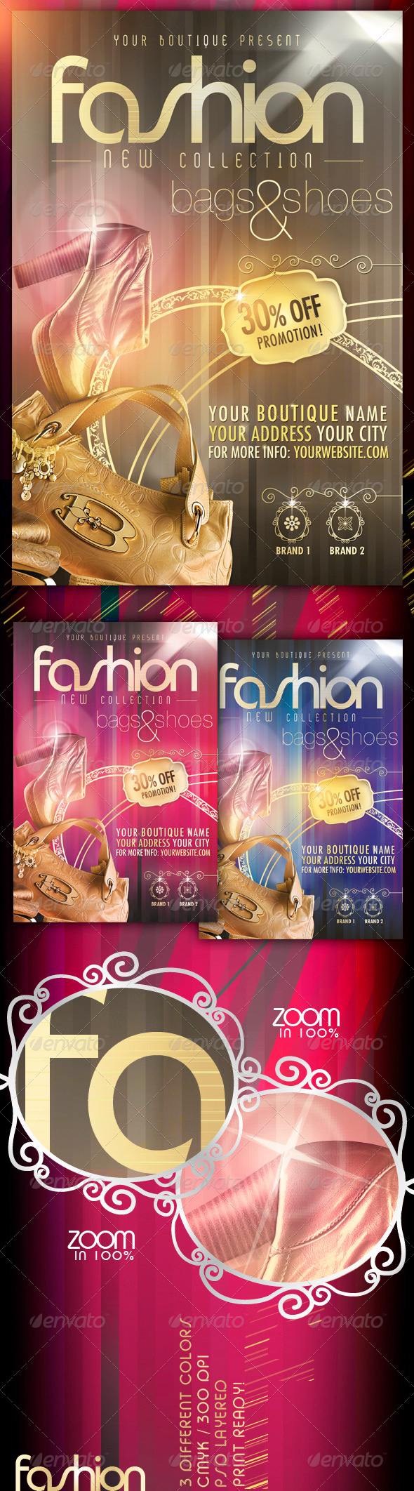 Fashion New Collection Flyer - Miscellaneous Events