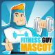 Fitness Guy Mascot - GraphicRiver Item for Sale
