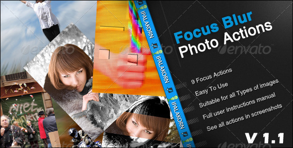 GraphicRiver Focus Blur Photo Action 336003