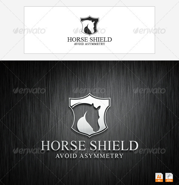 GraphicRiver Horse Shield 3473214