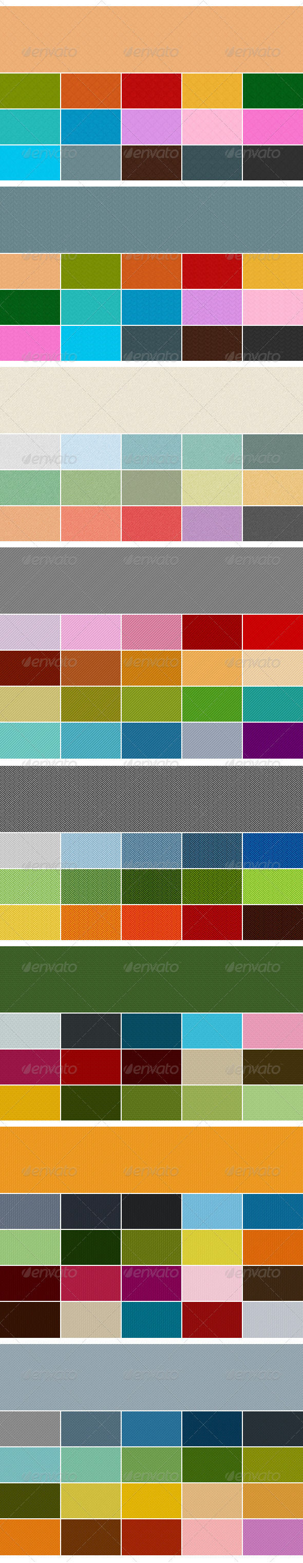 Multicilored Patterns - Miscellaneous Textures / Fills / Patterns