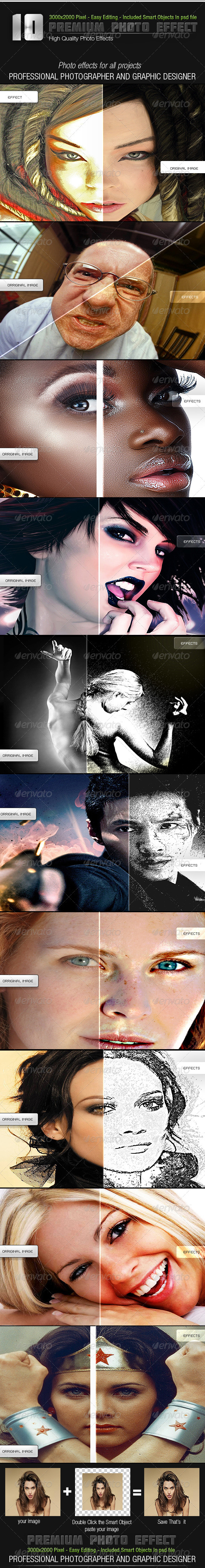 GraphicRiver Assoterd Photo Effects 3473332