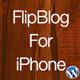 FlipBlog Iphone For Wordpress - CodeCanyon Item for Sale