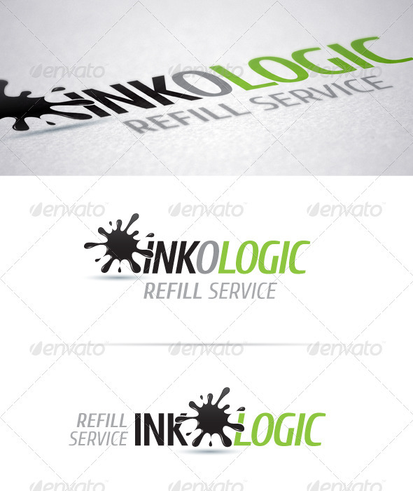 Ink-o-logic - Abstract Logo Templates