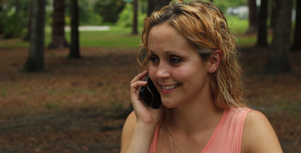 [VideoHive 372552] Woman Talking On Cell Phone | Stock Footage