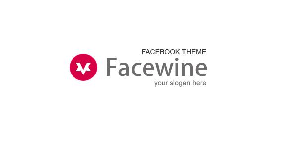ThemeForest Facewine Facebook Template 3474100