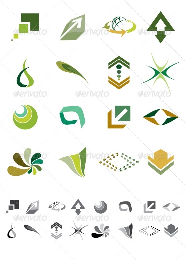 GraphicRiver Icons and Symbols 3474665